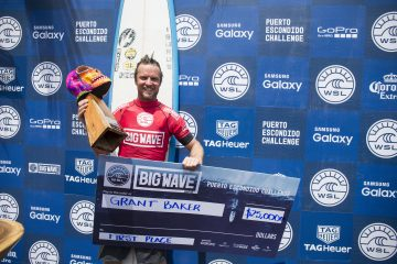 Grant Baker wins the WSL 2016 Puerto Escondito Challenge