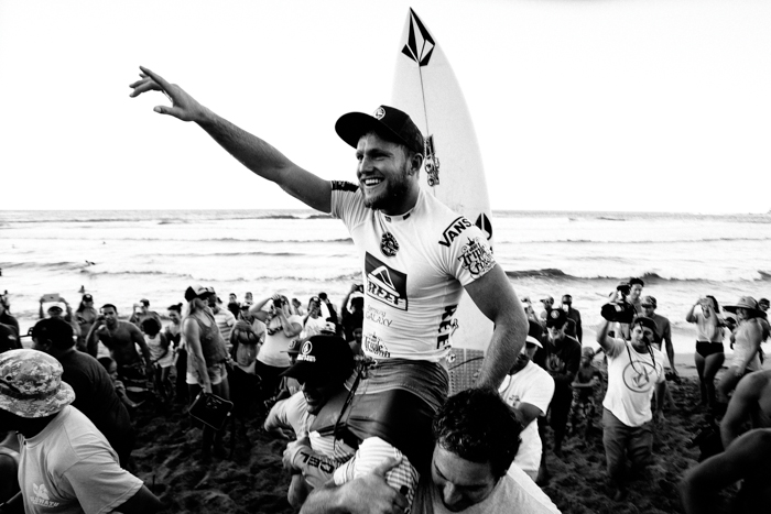 Hawaiian Pro Winner Dusty Payne Photo: Sloane