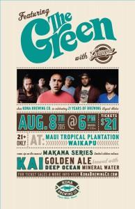 Makana Kai Concert Poster