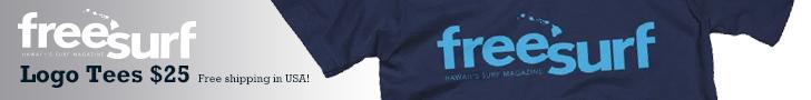 Freesurf logo tees 1